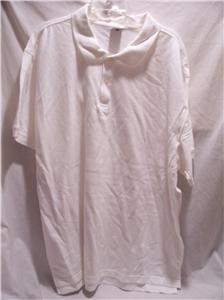 OLD NAVY~Mens S/S Polo Shirt~White~Size XXXXL~NWOT