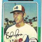 "BALOR MOORE ""Montreal Expos"" 1975 #592 Topps Baseball Card"