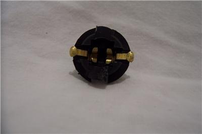 "Instrument Panel Lamp Socket Fits 5/8"" Hole GM, FORD, CHRYSLER (NEW)"