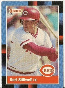 "KURT STILLWELL ""Reds"" 1988 #265 Topps Baseball Card"