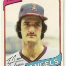 "MARK CLEAR ""Angels"" 1980 #638 Topps Baseball Card"