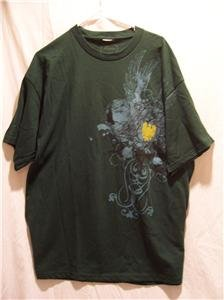 PARTS Men's S/S Graphic Green T-Shirt Size L, NWT