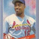 RAY LANKFORD St. Louis Cardinals 1993 Continental Baking Company BB Card