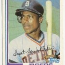 "LOU WHITAKER ""Detroit Tigers"" 1982 #39 Topps Baseball Card"