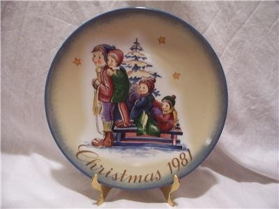 SCHMID-A TIME TO REMEMBER-1981 XMAS BY B HUMMEL