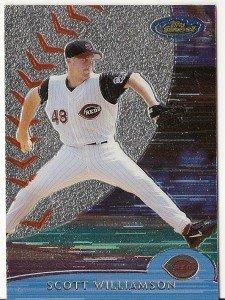 "SCOTT WILLIAMSON ""Cincinnati Reds"" 2000 #17 Topps Baseball Card"