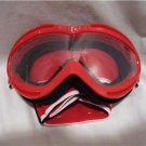 WSGG Youth Red Racing Goggle, Off-Road Competition Goggles