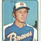 "CHUCK GOGGIN ""Atlanta Braves"" 1974 #457 Topps Baseball Card"