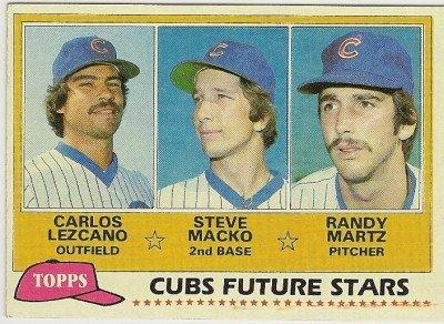 1981 CHICAGO CUBS FUTURE STARS #381 Topps Baseball Card