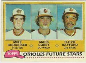 1981 BALTIMORE ORIOLES FUTURE STARS #399 Topps Baseball Card