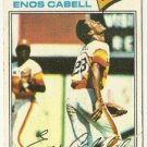 ENOS CABELL &quot;Houston Astros&quot; 1977 #567 Topps Baseball Card
