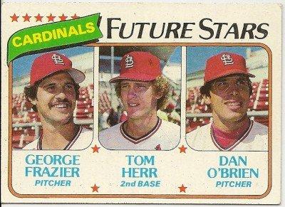 1980 ST LOUIS CARDINALS FUTURE STARS #684 Topps Baseball Card