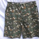 OLD NAVY~Mens Green 100% Cotton Khaki Shorts~SZ 28~NWT