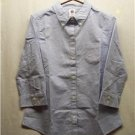 OLD NAVY Custom Made Light Blue 3/4 Sleeve Misses Shirt, Size: Large