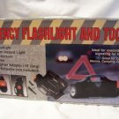EMERGENCY FLASHLIGHT & TOOL KIT, NIB