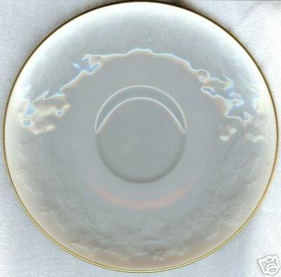 """NORITAKE IVORY CHINA #7341 HALLS OF IVY 6"""" SAUCER NI"""