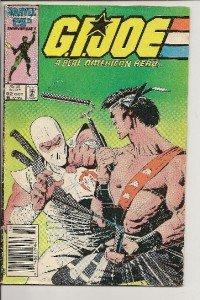 G.I. JOE A REAL AMERICAN HERO Vol. 1 No.52 October 1986