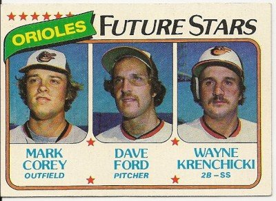 "1980 ""BALTIMORE ORIOLES"" FUTURE STARS #661 Topps Baseball Card"
