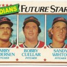 "1980 ""CLEVELAND INDIANS"" FUTURE STARS #665 Topps Baseball Card"