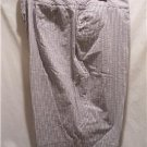 EVAN-PICONE Women's Size (10P) Gray Striped Shorts, NWT