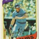 """LARRY BITTNER """"Chicago Cubs"""" 1980 #639 Topps Baseball Card"""