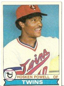 """HOSKEN POWELL """"Minnesota Twins"""" 1979 #656 Topps Baseball Card"""