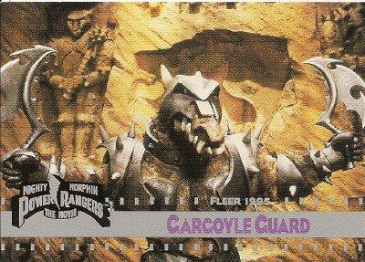 MIGHTY MORPHIN Power Rangers Card #109 Gargoyle Guard