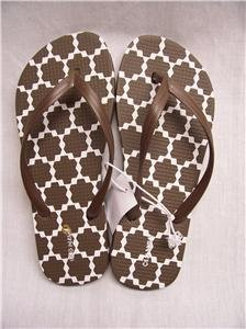 OLD NAVY Brown Flip-Flops~Wm's 5~New