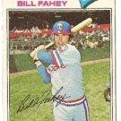 "BILL FAHEY ""Texas Rangers"" 1977 #511 Topps Baseball Card"