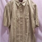 RUFF HEWN~Mens S/S Shirt~Green~SZ Large~MSRP $46~NWT