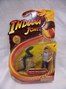 INDIANA JONES Mutt Williams Figurine, NIP