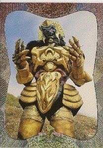 MIGHTY MORPHIN Power Rangers Card #79 Goldar
