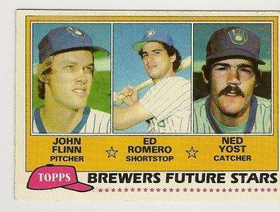 1981 MILWAUKEE BREWERS FUTURE STARS #659 Topps Baseball Card