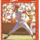 "TIM LEARY ""Cincinnati Reds"" 1990 #670 Donruss Baseball Card"