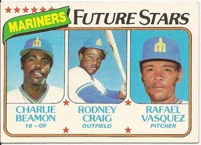 1980 SEATTLE MARINERS FUTURE STARS #672 Topps Baseball Card