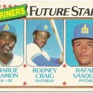 1980 SEATTLE MARINERS FUTURE STARS #672 Topps Baseball Card