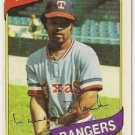 "LARVELL BLANKS ""Texas Rangers"" 1980 #656 Topps Baseball Card"