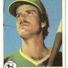 """DAVE REVERING """"Oakland A's"""" 1979 #224 Topps Baseball Card"""