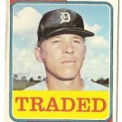 "GARY SUTHERLAND ""Traded"" 1974 #428T Topps Baseball Card"