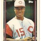 """GLENN BRAGGS """"Cincinnati Reds"""" 1992 #197 Topps Baseball Card"""