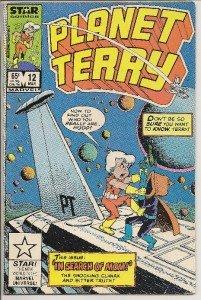 PLANET TERRY Vol. 1 No.12 March 1986 STAR Comics
