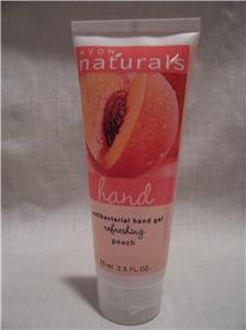 AVON Antibacterial Hand Gel~Refeshing~Peach~2.5 FL. OZ.
