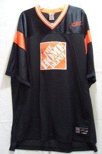 CHASE Authentics #20 Home Depot Black Jersey, SZ 2XL