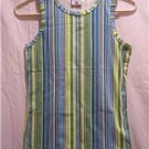 COLUMBIA Girls Youth Large Multi-Striped Tank Top, NWT