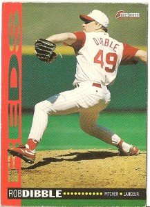 "ROB DIBBLE ""Cincinnati Reds"" 1994 #224 O-Pee-Chee Baseball Card"