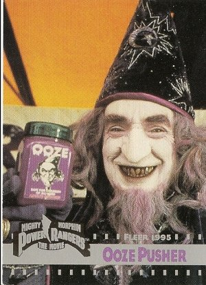 MIGHTY MORPHIN Power Rangers The Movie Trading Card #88 Ooze Pusher