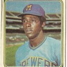 "BOBBY MITCHELL ""Milwaukee Brewers"" 1974 #497 Topps Baseball Card"