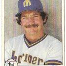 "BILL STEIN ""Seattle Mariners"" 1979 #698 Topps Baseball Card"