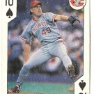 "ROB DIBBLE ""Cincinnati Reds"" 1991 All-Stars U.S. Playing Card"