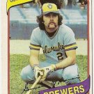 "GORMAN THOMAS ""Milwaukee Brewers"" 1980 #623 Topps Baseball Card"